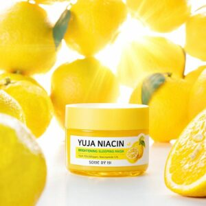 somebymi yuja niacin brightening sleeping mask