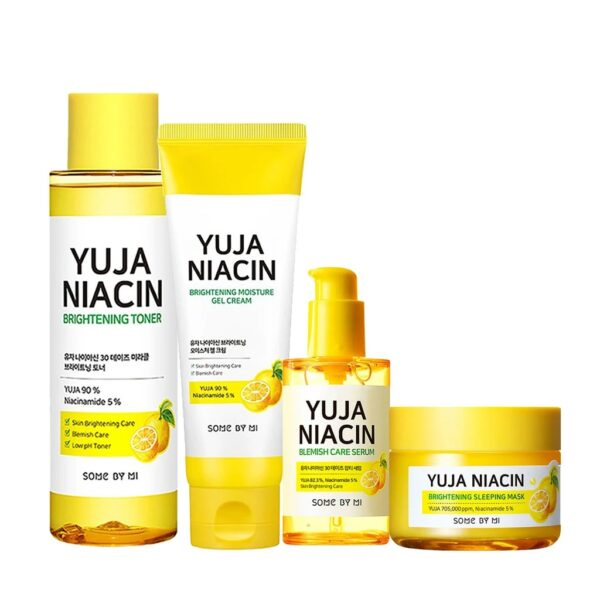 yuja niacin brightening bundle 4 items