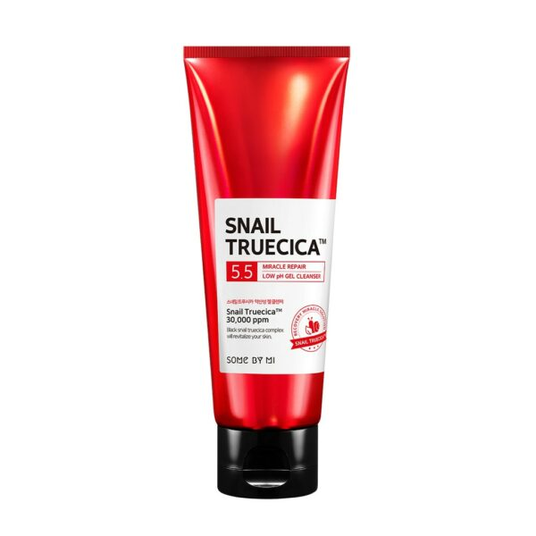 snail truecica low ph gel cleanser