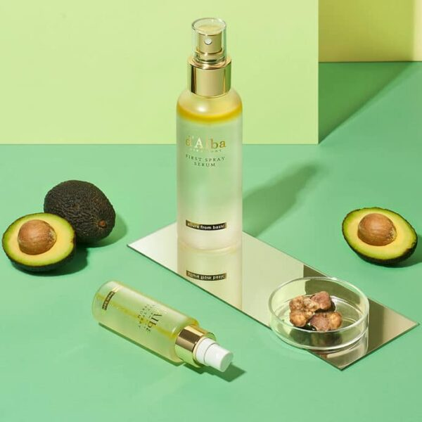 dalba white truffle serum with avocado