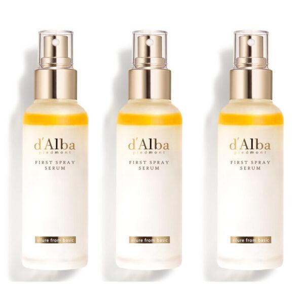 d'Alba First Spray Serum, 3 Bottles